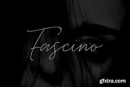 CM - FASCINO - Handmade Luxury Font 4375211