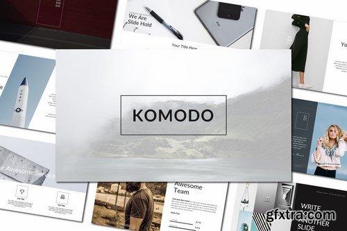 Komodo Powerpoint and Keynote Templates