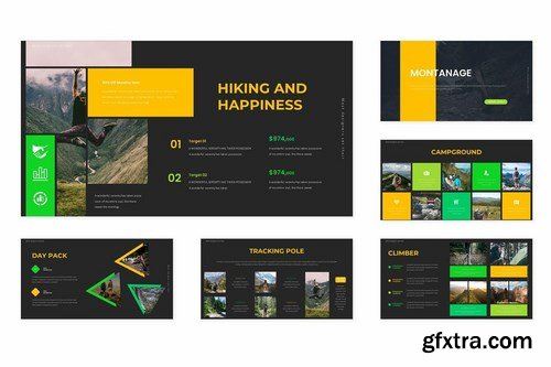 Montanage - Powerpoint Google Slides and Keynote Templates