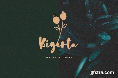 Daun Katuk - The Fresh Cute Font