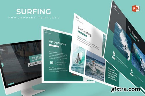 Surfing - Powerpoint Google Slides and Keynote Templates
