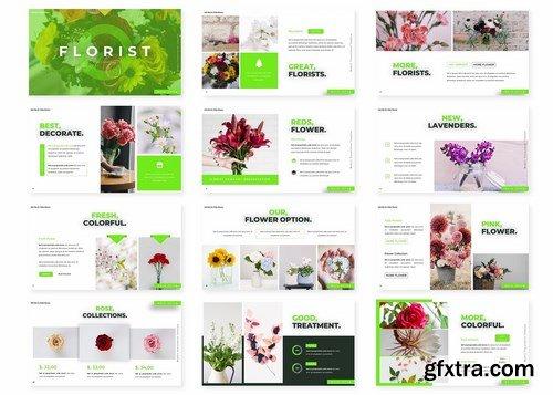 Florist - Powerpoint Google Slides and Keynote Templates