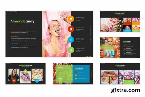 CandyChee - Powerpoint Google Slides and Keynote Templates