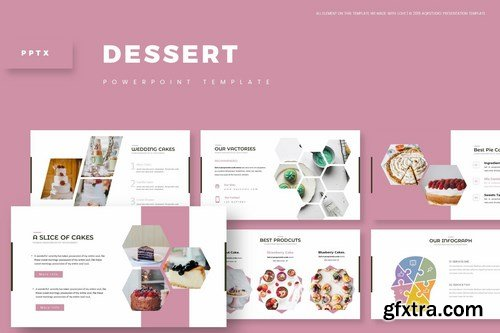Dessert - Powerpoint Google Slides and Keynote Templates