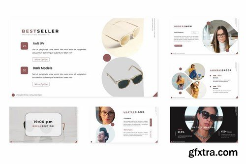 Glasses - Powerpoint Google Slides and Keynote Templates
