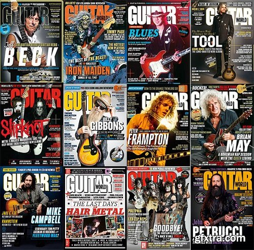 Guitar World - 2019 Full Year Issues Collection