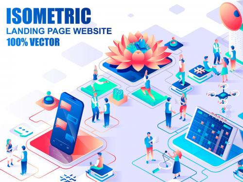 BIG Collection Isometric Landing Page Header - big-collection-isometric-landing-page-header