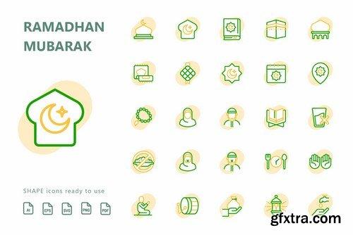 Ramadhan Mubarak Icons Pack