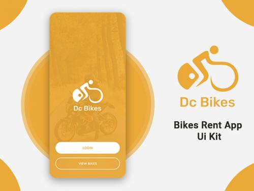 Bikes Rent App Ui Kit - bikes-rent-app-ui-kit