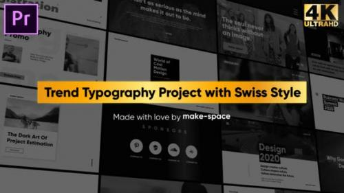 Videohive - Swiss Typography Pack - for Premiere Pro