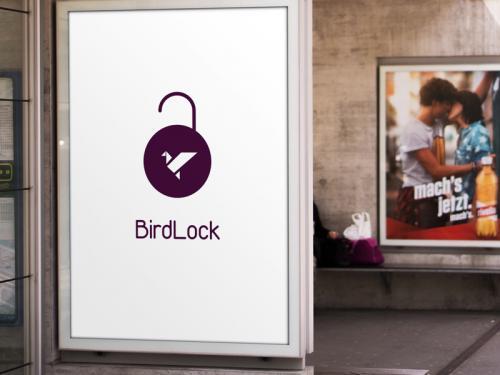 Bird Lock Logo - bird-lock-logo