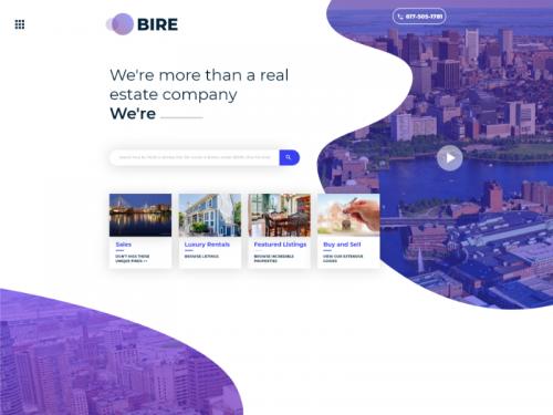 Bire Rea Estate Web Landing Page - bire-rea-estate-web-landing-page