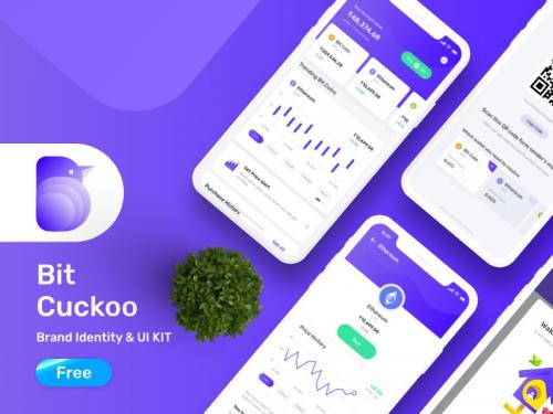 Bit cuckoo ui kit for bit coin app - bit-cuckoo-free-ui-kit-for-bit-coin-app