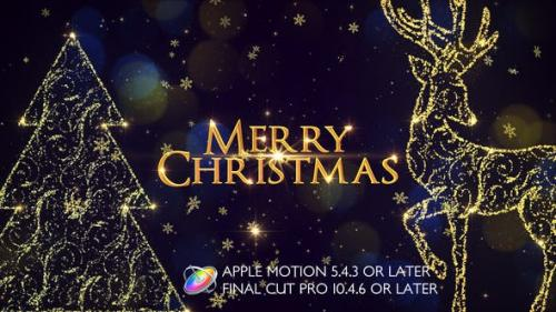 Videohive - Christmas Slideshow Promo - Apple Motion