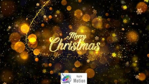 Videohive - Christmas - Apple Motion