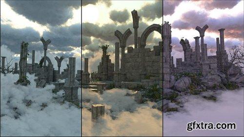 Daz3D - Cloudscape Creator - Bare Sky HDRIs for Iray