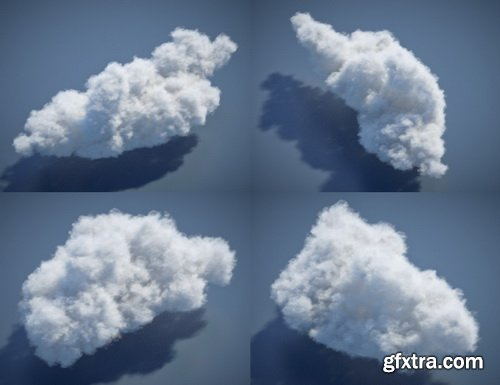Daz3D - Cloudscape Creator - Hero Clouds for Iray