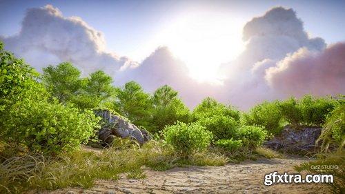 Daz3D - Cloudscape Creator - Material Expansion