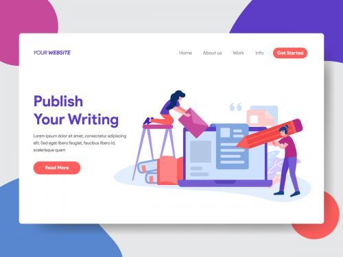 Blogging Vector Illustration - blogging-vector-illustration