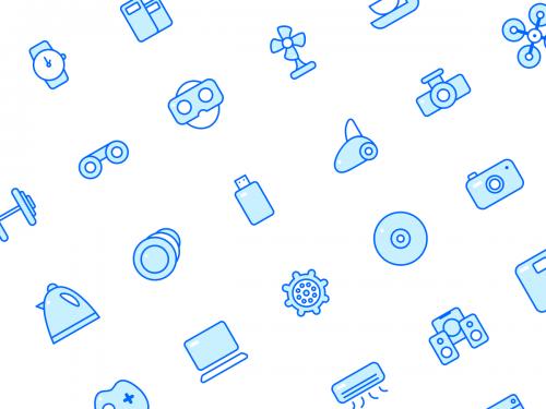 Store Icons Set - blue-moon-icon-set
