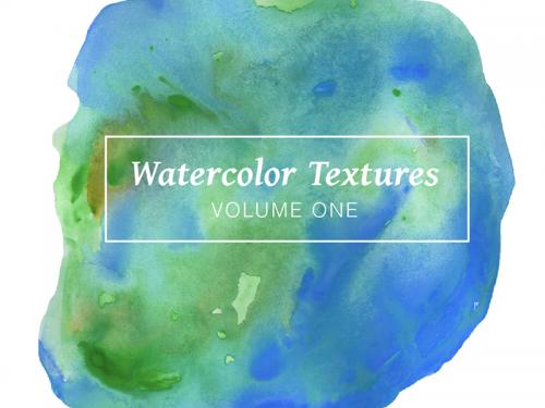 Blue Watercolor Textures - Volume 1 - blue-watercolor-textures-volume-1