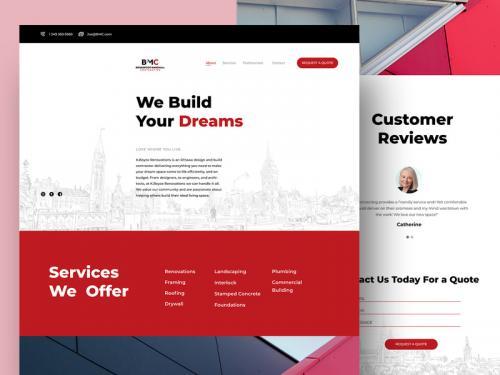 BMC Consulting website - bmc-consulting-website