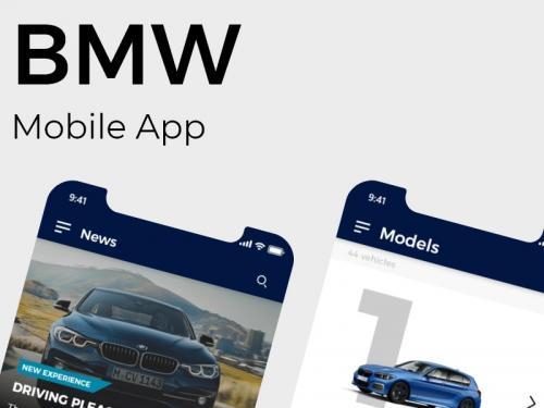 BMW | Car models mobile app - bmw-mobile-app