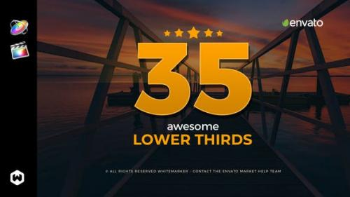 Videohive - Awesome Lower Thirds for FCPX