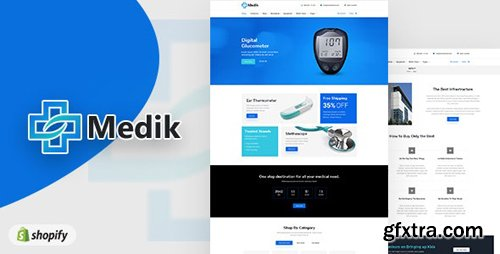 ThemeForest - Medik v1.0 - Medical Shopify Theme - 23116071