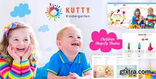 ThemeForest - Kutty Kids v1.0 - Childrens Shopify Theme - 23472213