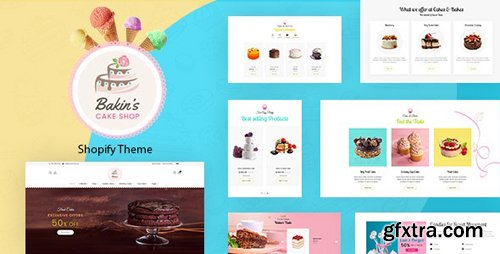 ThemeForest - Bakins v1.0 - Shopify Cake Shop, Bakery Theme - 22913828