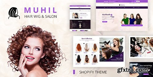ThemeForest - Muhil v1.0 - Hair Wig and Hair Ectension Service Shopify Theme - 24914219
