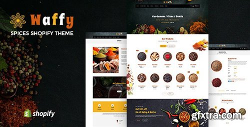 ThemeForest - Waffy v1.0 - Spices, Dry Fruits and Nuts Store Shopify Theme - 24678863