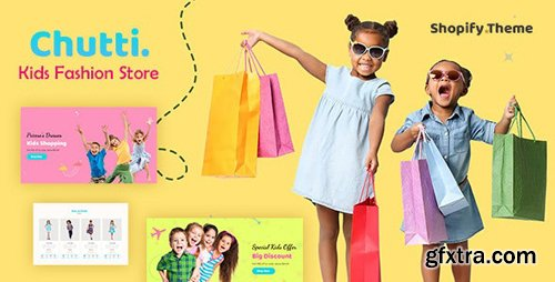 ThemeForest - Chutti v1.0 - Shopify Kids Store - 24525562