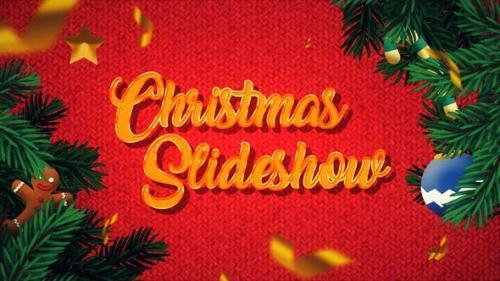 Videohive - Winter Christmas Photo Slideshow