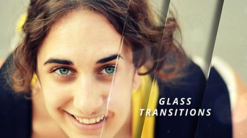 Videohive - Glass Transitions