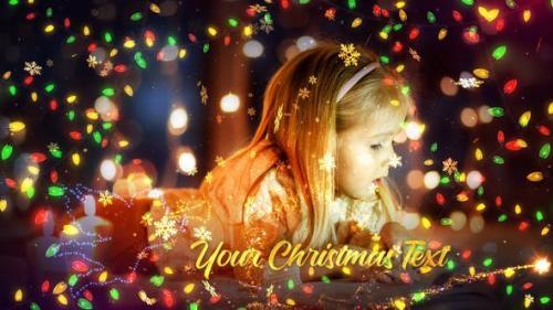 Videohive - Christmas Lights Promo