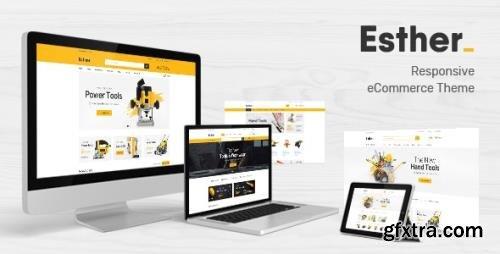 ThemeForest - Esther v1.0 - Responsive Prestashop Theme - 25274736