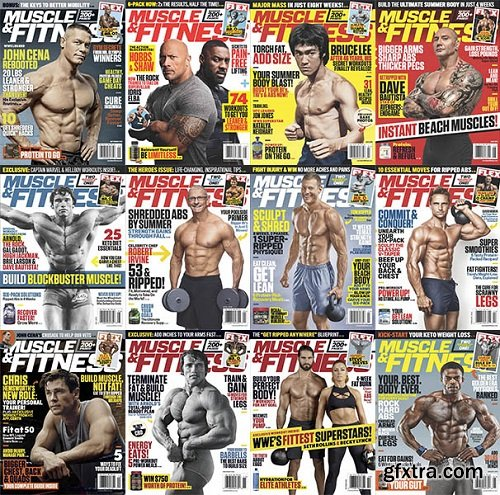 Muscle & Fitness USA - 2019 Full Year Issues Collection