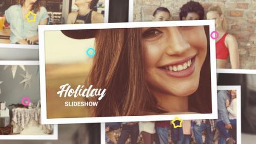 Videohive - Holiday Photo Slideshow