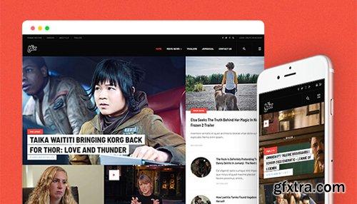 JoomlArt - JA Flix v1.0.0 - Professional Movie News & Magazine Joomla Template
