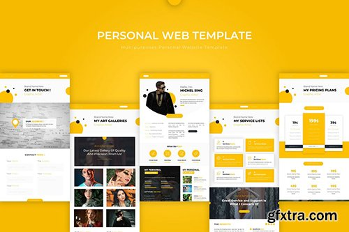 Personal | PSD Web Template