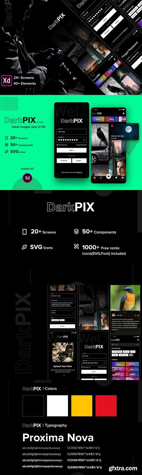 DarkPIX UI Kit v1