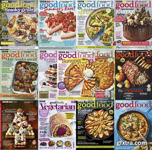 BBC Good Food UK - 2019 Full Year Issues Collection