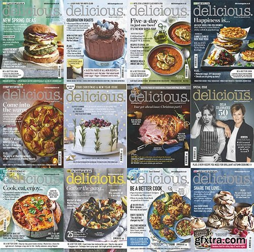 Delicious UK - 2019 Full Year Issues Collection