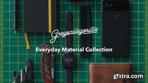 GreyscaleGorilla - Everyday Material Octane, Arnold  & Redshift Pack for Cinema 4D