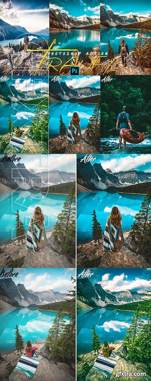 GraphicRiver - Travels Photoshop Actions 25147175
