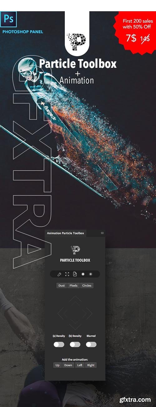 GraphicRiver - Animation Particle Toolbox Photoshop Panel 25174233