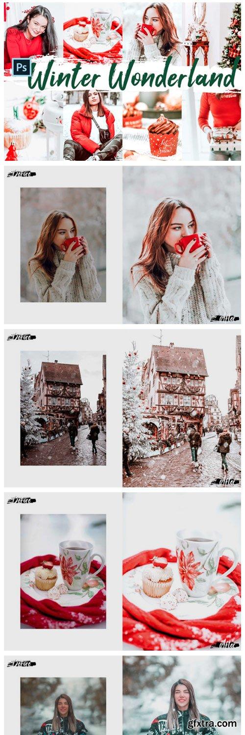 10 Winter Wonderland Photoshop Actions 2261584