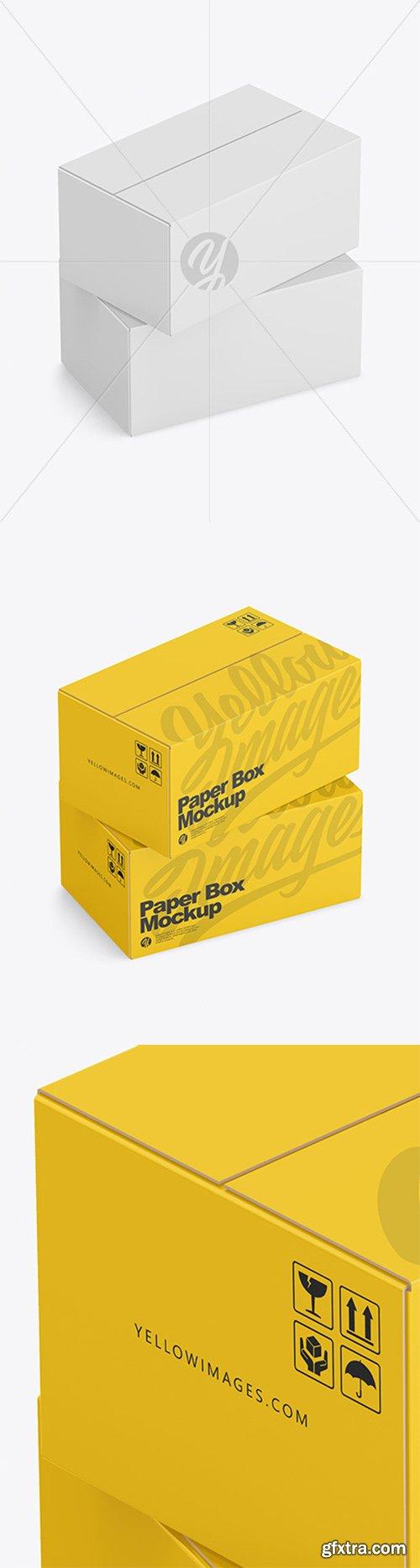 Packaging Mockup Box